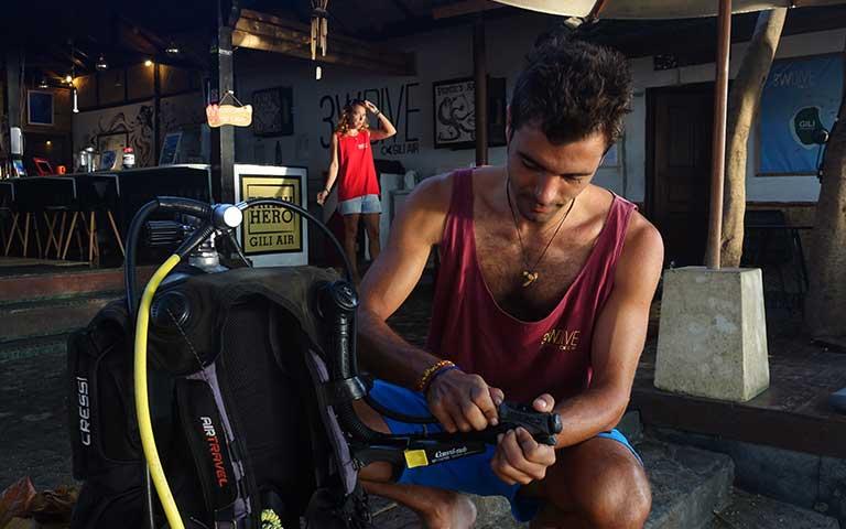scuba diving life