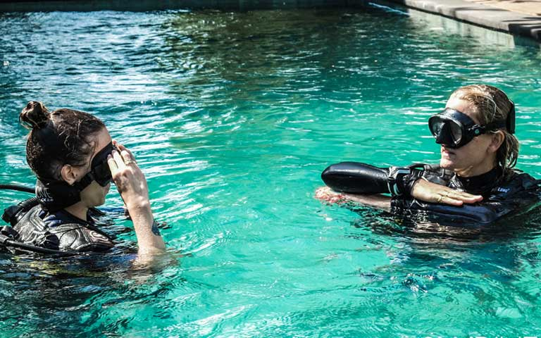 scuba training agency