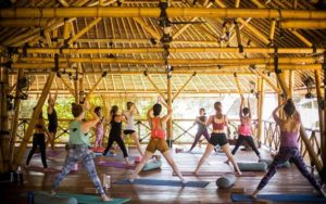 Yoga on Gili Air